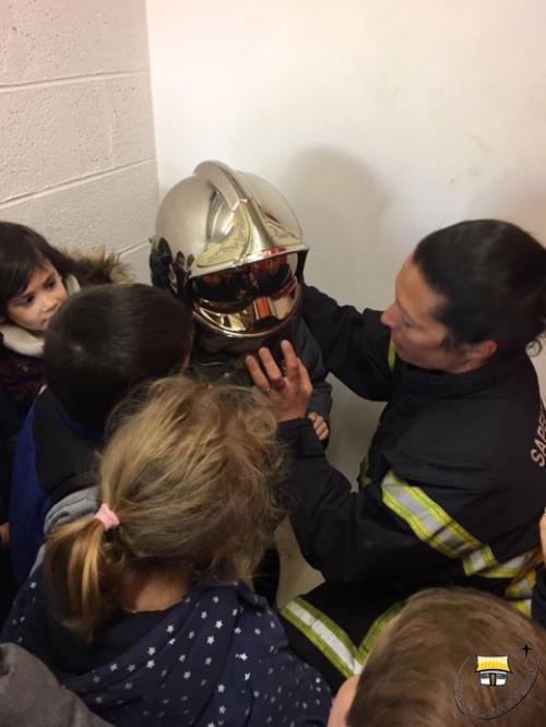 Les TPS/PS à la caserne des pompiers !